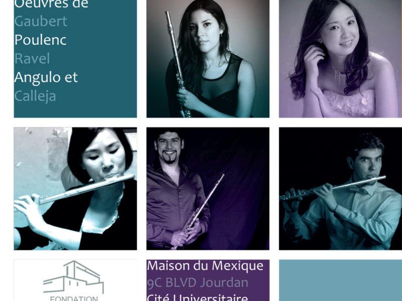 Concert de musique française & mexicaine – 20 Novembre