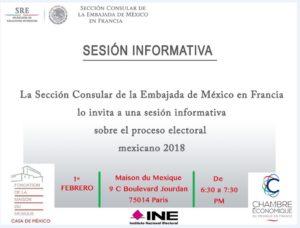 Sesion informativa 1 de fev consulado