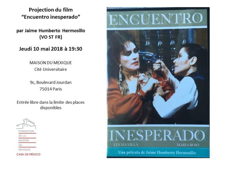 Film, Encuentro Inesperado – 10 mai 2018