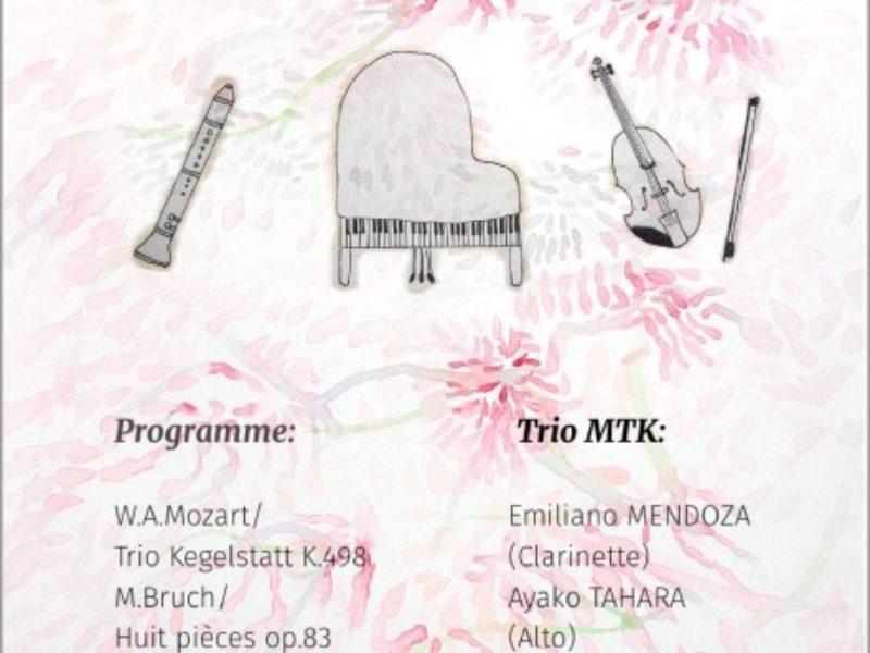 Concert, Soirée du Trio – 5 avril