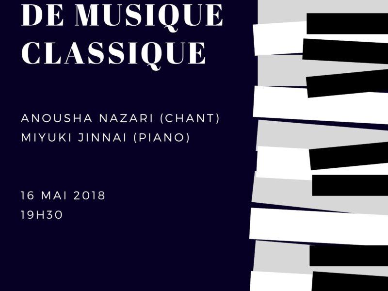 Concert de Musique Classique – 16 mai 2018