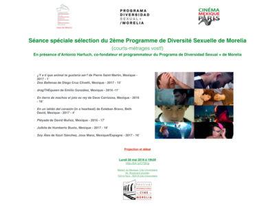 Séance Spéciale de Court-métrages – 28 mai 2018