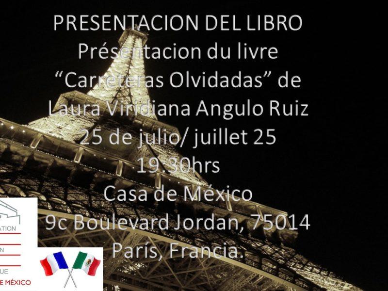 Carreteras Olvidadas, Présentation du livre – 25 juillet 2018