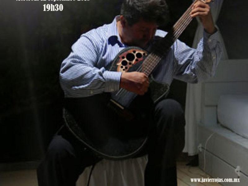 Concert de Guitare Javier Rojas – 12 Septembre 2018