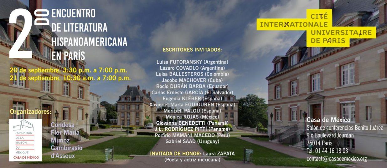Encuentro de Literatura Hiospanoamericana espanol