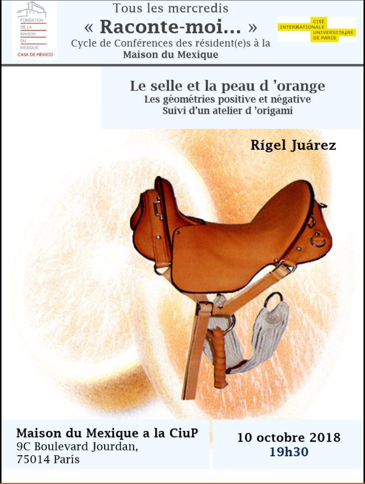 Affiche Rigel Juarez 10 octobre