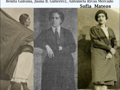 Cycle de conférences «Raconte moi …» Trois visions sur la liberté des femmes au Mexique, par Sofia Mateos – 17 octobre 2018 – 19h30
