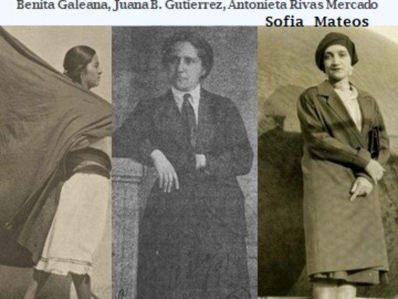 Cycle de conférences «Raconte moi …» Trois visions sur la liberté des femmes au Mexique, par Sofia Mateos – 24 octobre 2018 – 19h30