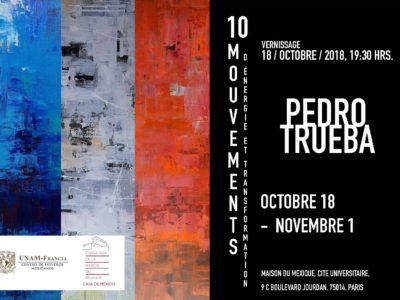 Pedro Trueba, 10 mouvements d'énergie et transformation – 18 octobre au 1er Novembre 2018