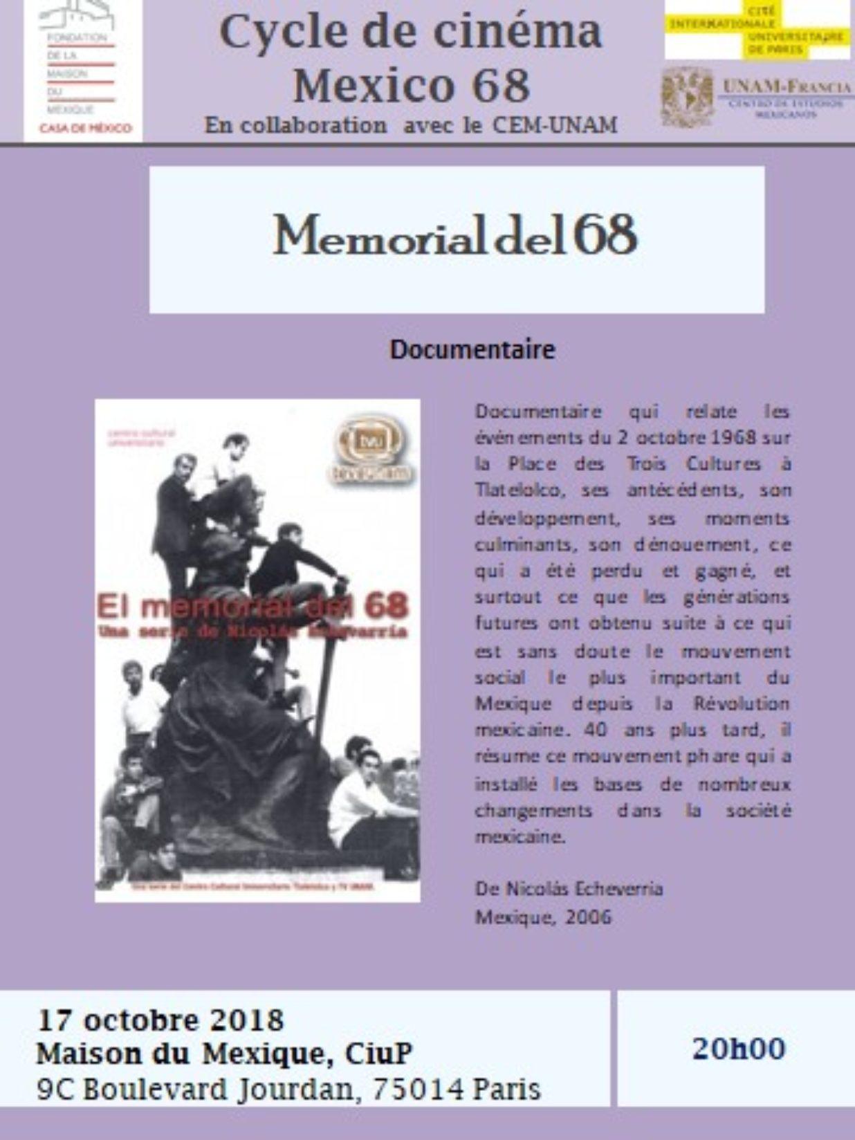 Mexico 68 17 octobre
