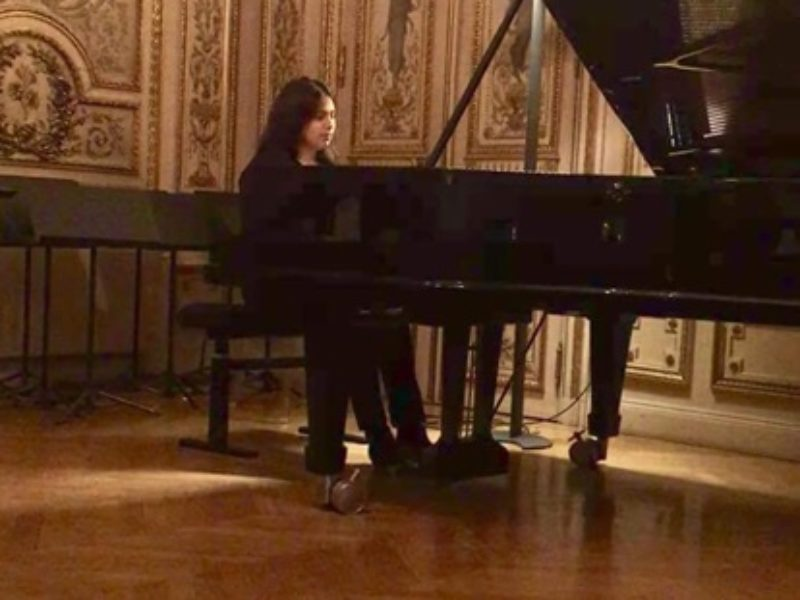 Concert de Piano par Angélica Victoria Díaz Lemus, 21 novembre 2018 -19h30