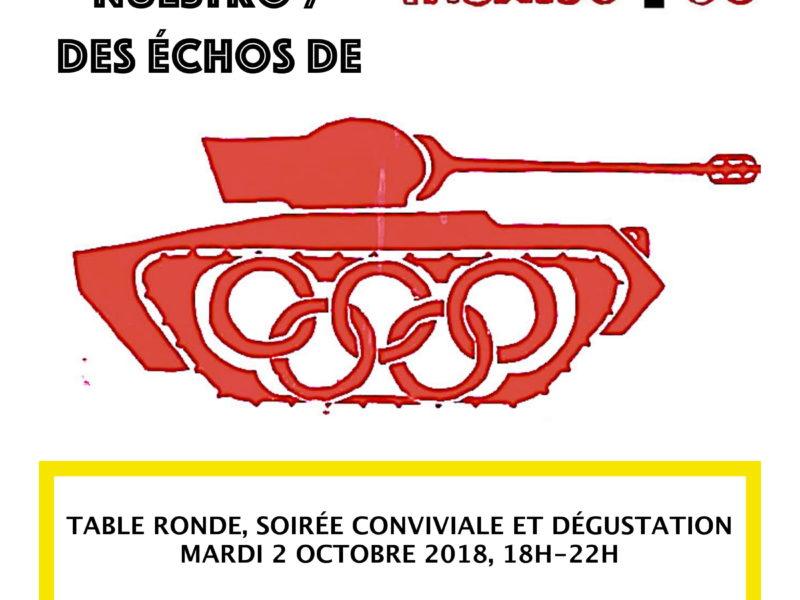 Ecos de nuestro México 68, 2 octobre 2018 -18h