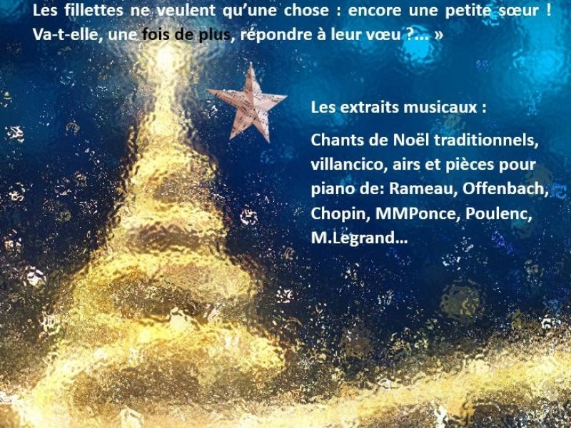 Concert de Noël, 15 décembre 2018 – 18h