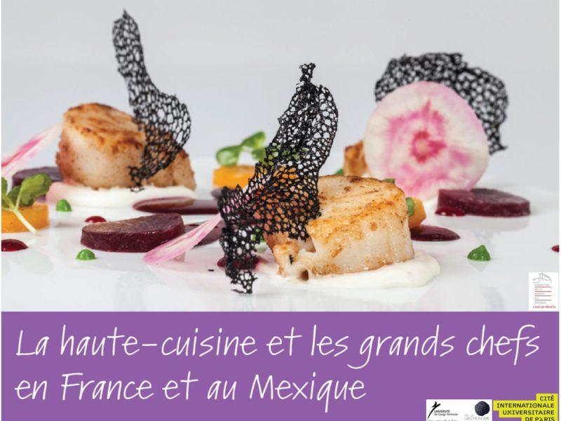 Conférence «La Haute-cuisine et les Grands Chefs en France et au Mexique» – 11 janvier 2019 – 19h