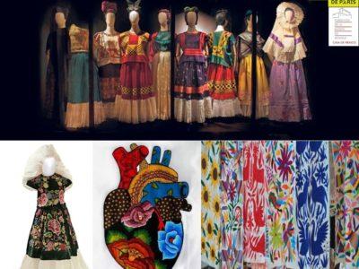 Cycle de conférences Raconte-moi… « The fashion of plagiarism: Theft and appropriation of Mexican indigenous designs», par Samahi Villegas – vendredi 26 avril 2019 – 19h30