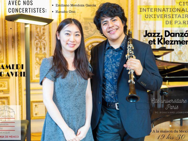 Concert Jazz, Danzón et Klezmer, samedi 20 avril 2019 – 19h30