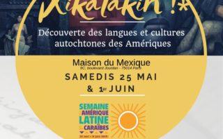 25 mai et 1 juin Atelier langues