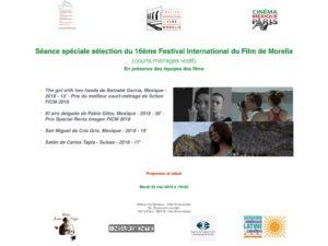 Cine Morelia 28 mai