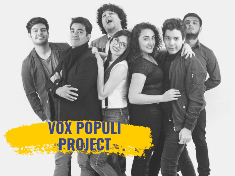 Vox Populi Project, concert mercredi 29 mai 2019 – 20h