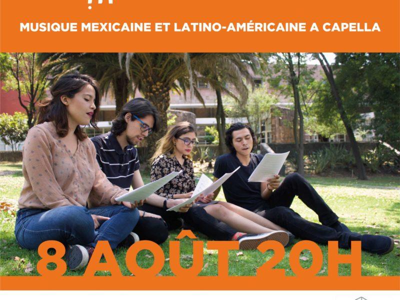Musique mexicaine et latino-américaine, Quartet SHEMESH, jeudi 8 août 2019, 20h