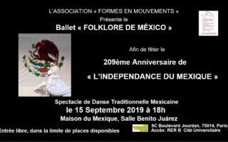 15 septembre Danse Folklore