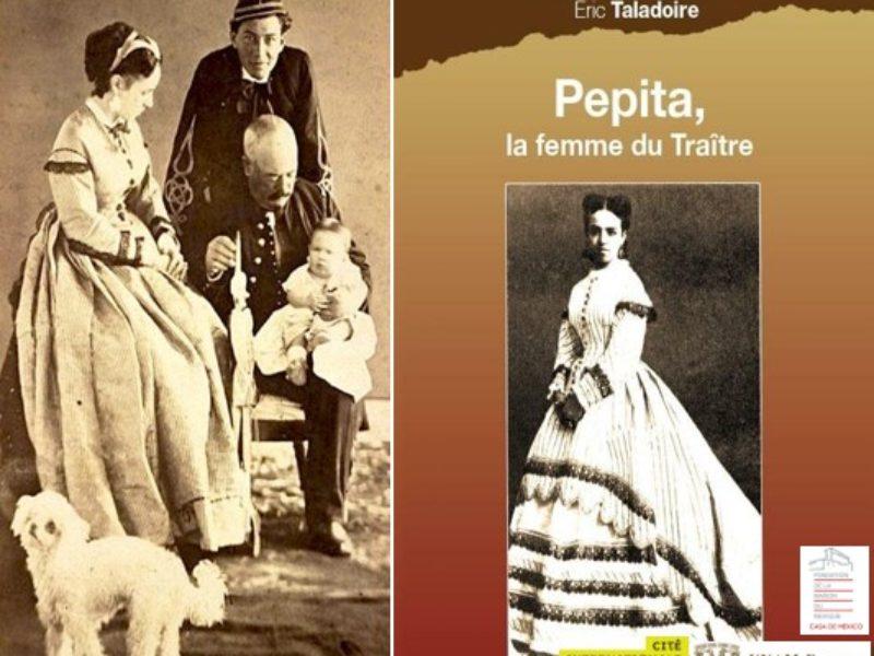 Présentation du livre: Pepita, la femme du Traître, jeudi 24 octobre 2019