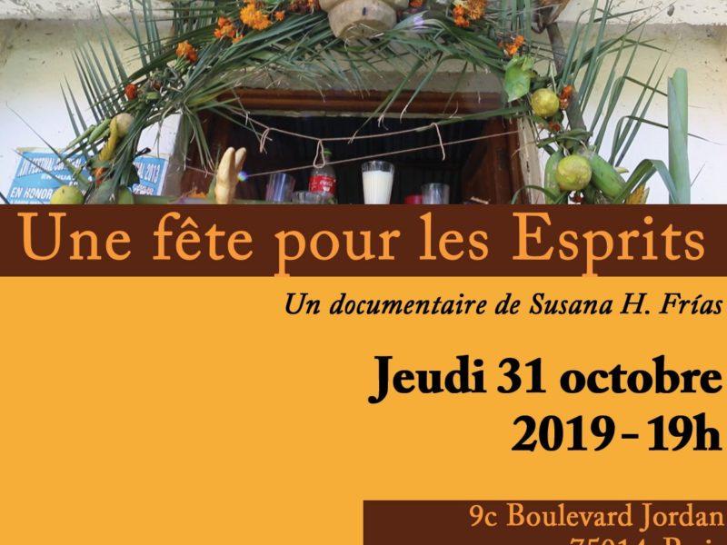 Une fête pour les Esprits, documentaire – jeudi 31 octobre, 19h